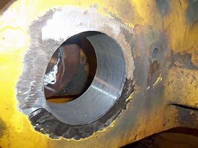 Bore welding image